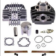 YAMAHA PW 80 PW80 Carburetor Cylinder Gasket Piston Rings Kit Set 1983-2006 PW80