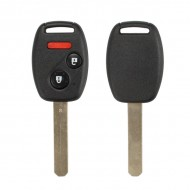 Remote Key (2+1) Button and Chip Separate ID:46 (313.8MHZ) For 2005-2007 Honda