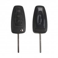 3 Button Remote Key With 433mhz (Black) Made In China for Ford