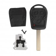 Transponder Key Shell 3-button 2 Track for BMW