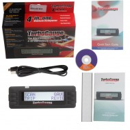 TurboGauge IV Auto Computer Scan Tool Digital Gauge 4 in 1