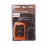 VC310 OBD2 OBDII EOBD CAN Auto Scanner Code Reader & Cleaner Car Diagnostic Tool