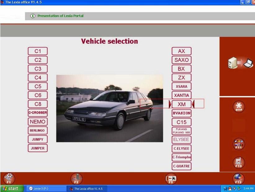 Lexia3 Software