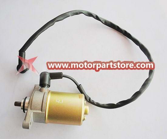 Hot Sale Starter Motor For GY6 50 Atv, Go Kart