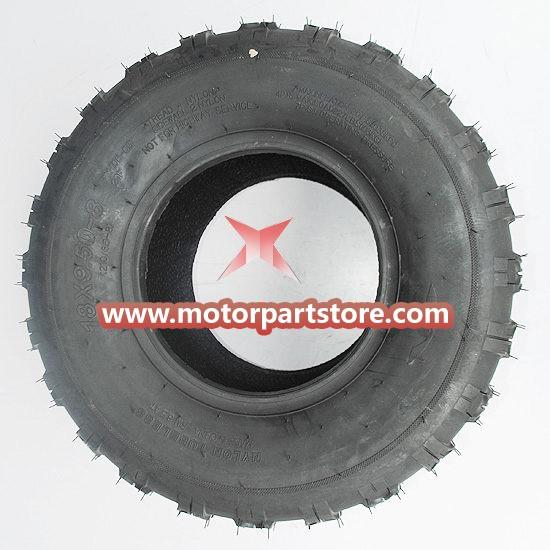 New 18×9.50-8 Rear Tire For 50cc-125cc Atv