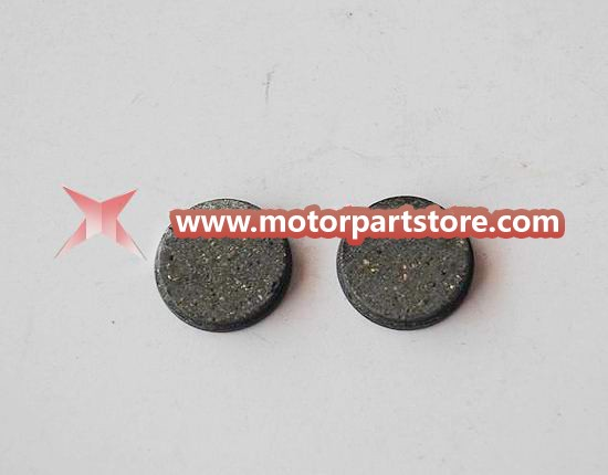 The brake pad fit for 49cc 2 stroke pocket bike