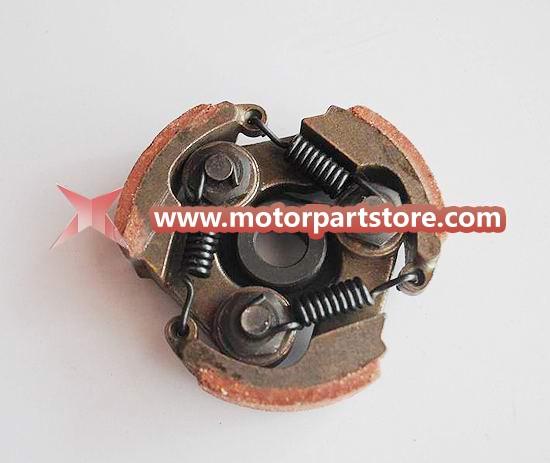 The 3 springs steel clutch fit for pocket bike