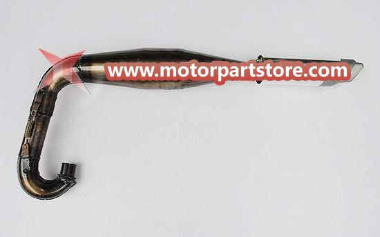 The muffler fit for water cooled pocket bike