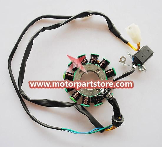 12-Coil Magneto Stator for CG 150cc-200cc ATV