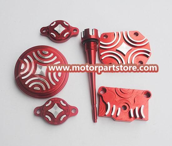 CNC DRESS UP KIT FOR XR50 CRF50 KLX110 TTR90 110