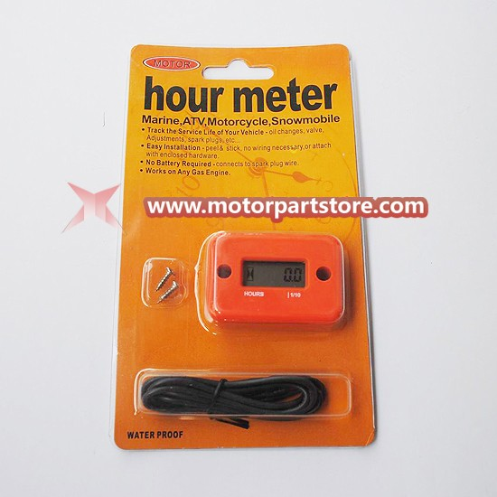 New Hour Meter Fit For Motorcycle, Atv