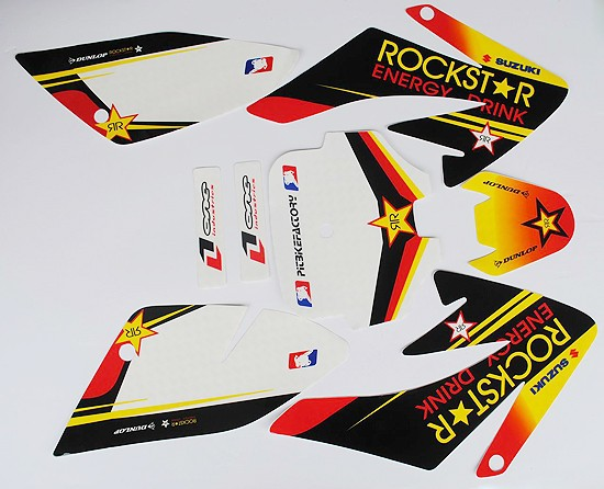 3M Graphic Sticker Kit FOR CRF50