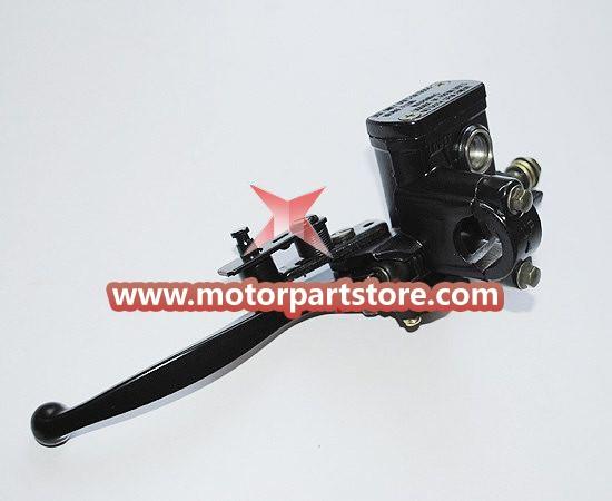 High Quality Black Left Brake Pump With Brake Lever