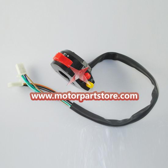 High Quality 3-Function Left Switch Assembly For Dirt Bike And Atv