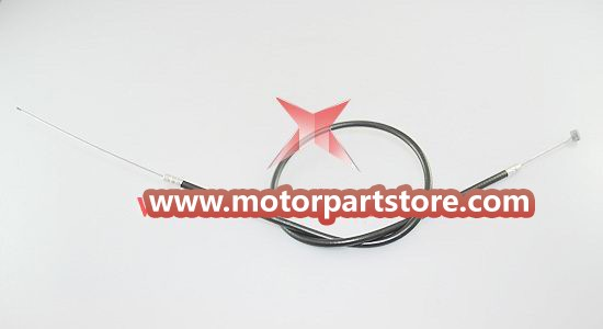 The front brake cable for the 49cc pocket bike