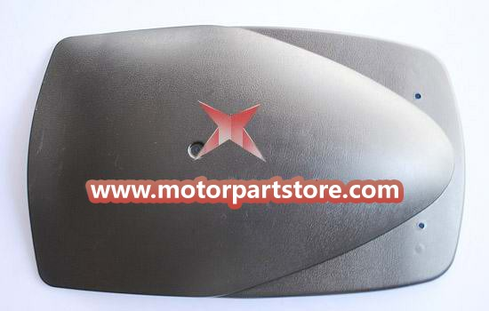 The rear fender fit for 110cc to 150cc go karts