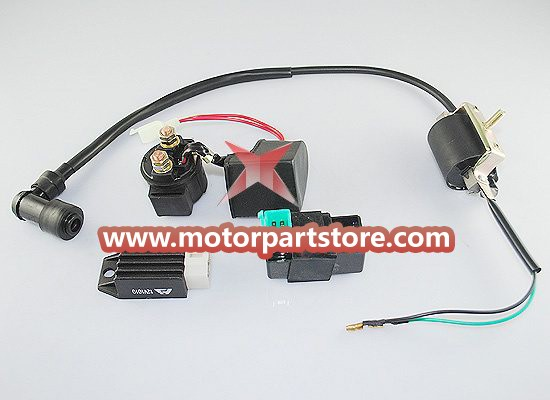 Electrical parts for 110-125CC dirt bike