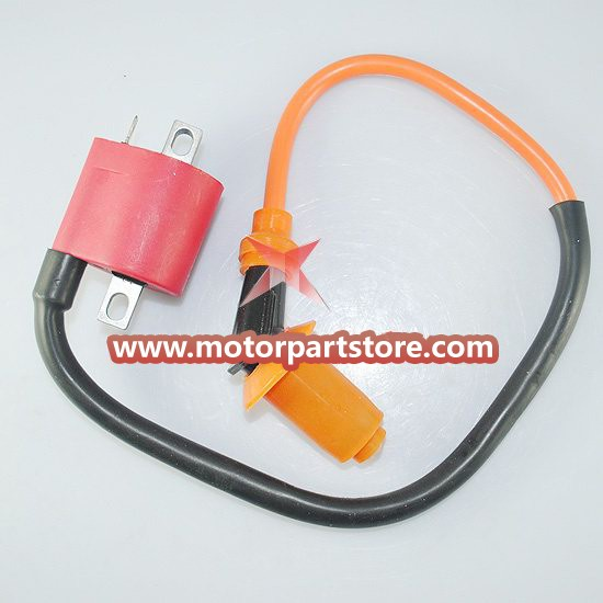 The ignition coil, for the ATV and dirt bike