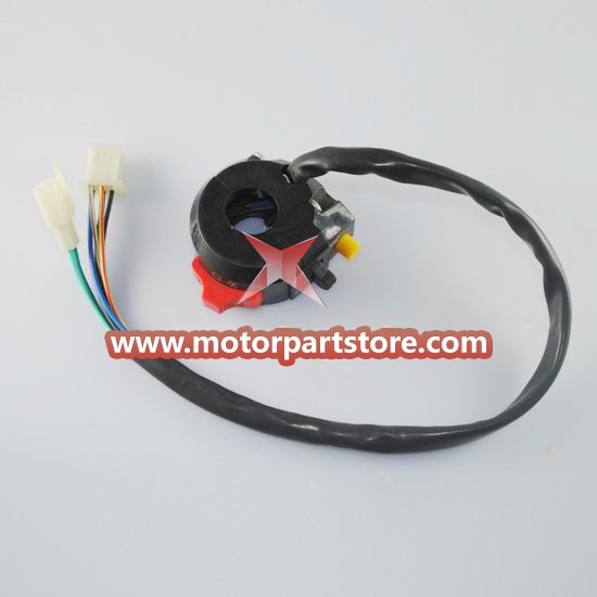 Hot Sale 3-Function Left Switch Assembly For Pocket Bike And Atv