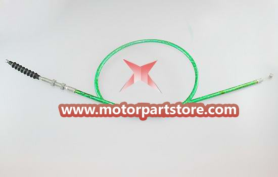 The clutch cable for the 150CC dirt bike