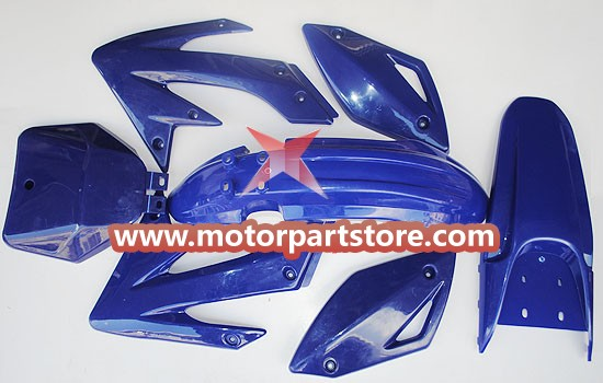 Plastic Body Assy for CRF70 Dirt Bike.