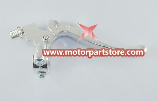 The brake lever with block fit for dirt bike