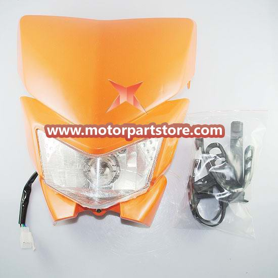 Head light fit for the dirt bike