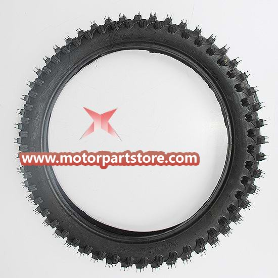 70/100-17 front Tire for 50cc-250cc Dirt Bike.