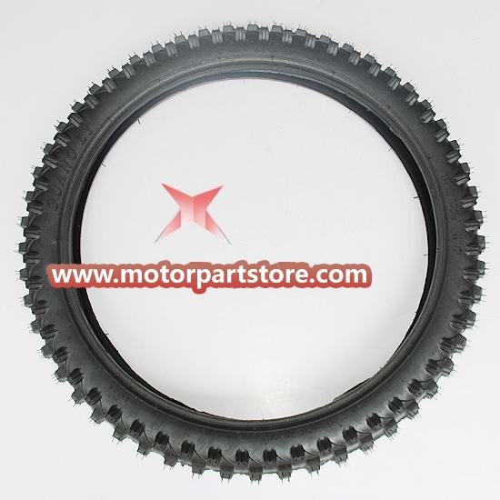 70/100-19 Rear Tire for 50cc-125cc Dirt Bike.