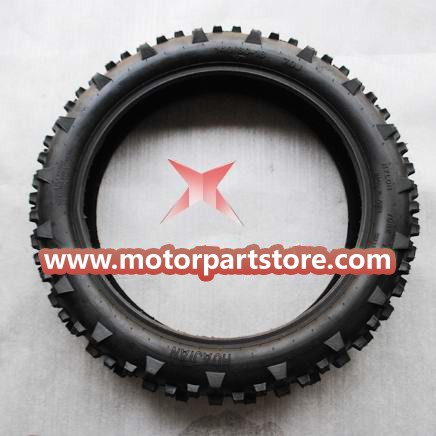 140/80-18 Rear Tire for 50cc-125cc Dirt Bike.