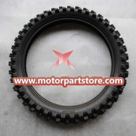 90/100-18 rear Tire for 50cc-125cc Dirt Bike.