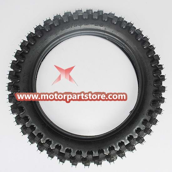 90/100-14 Rear Tire for 50cc-125cc Dirt Bike.