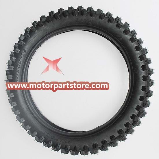90/100-16 Rear Tire for 50cc-125cc Dirt Bike.