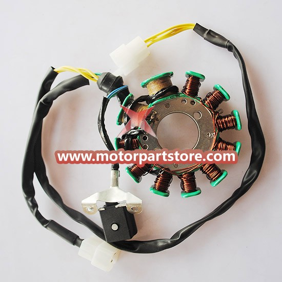 New 11-Coil 150cc-200cc Magneto Stator For Atv