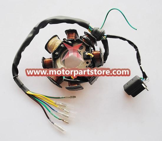 Hot Sale 8-Coil Magneto Stator Fit For CB 200-250 Atv