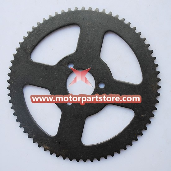 25H 68teeth Sprocket for 49cc pocket bike