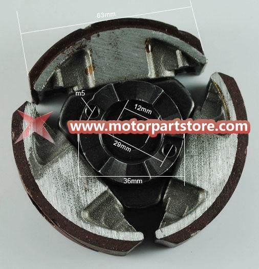 KTM 50 Aftermarket 3-Shoe Clutch Assembly NEW
