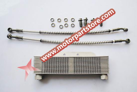 Oil cooler is fit for dirt bike