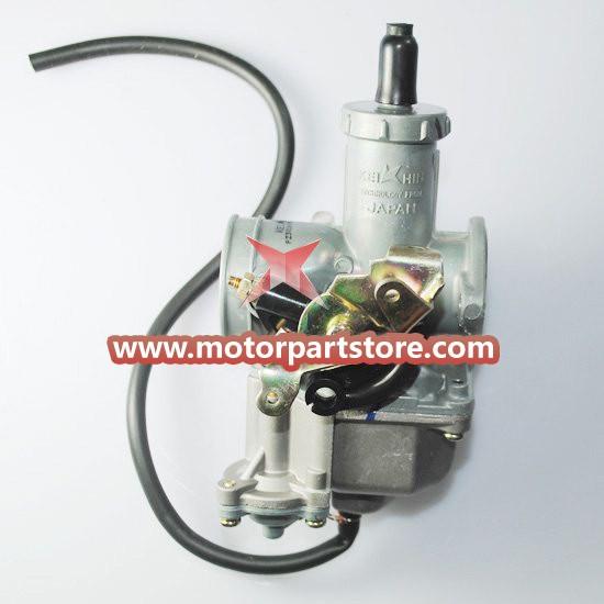 High Quality Silver 30mm Hand Chock Carburetor Atv
