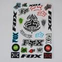 Fox Racing Sticker Pack / Sheet / Kit Decals