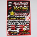 Racing Sticker Pack / Sheet / Kit Decals