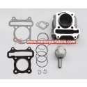 New Gy6 Qmb139 Cylinder Piston Rings Kits