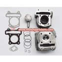 2016 Hot Sale 50cc Gy6 Scooter Cylinder Head With Piston Kits