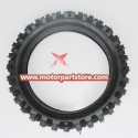 80/100-12 front tyre fit for 50 t0 125cc dirt bike