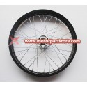 1.85 x 19 front alloy rim with hub