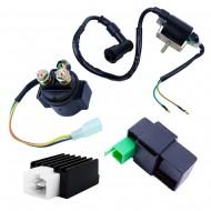 Ignition Coil CDI Regulator Rectifier Relay For 50cc 70 90cc 110 cc 125cc Chinese ATV Quad