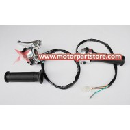 High Quality Handle Grips With Function Switch,Brake Lever For Monkey Bike