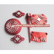 CNC DRESS UP KIT FOR XR50 CRF50 KLX110 TTR90 110