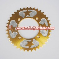 Pit Bike 420 39 Tooth Teeth Rear Back Sprocket