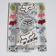 Fox Racing Sticker Pack / Sheet / Kit Decals